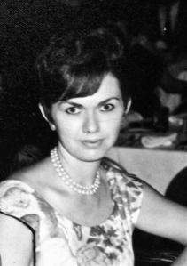 Rita around 1958 at O.U.