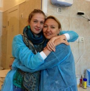 Nastia and Snizhana